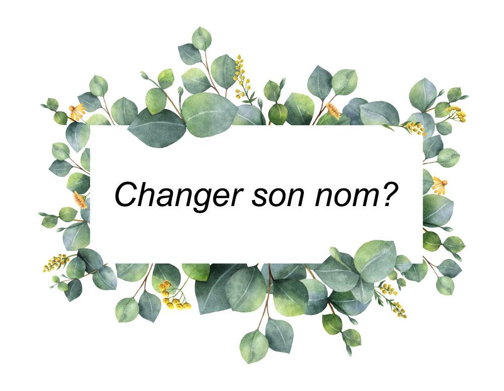 Changement de nom après mariage : ce qu'il faut savoir